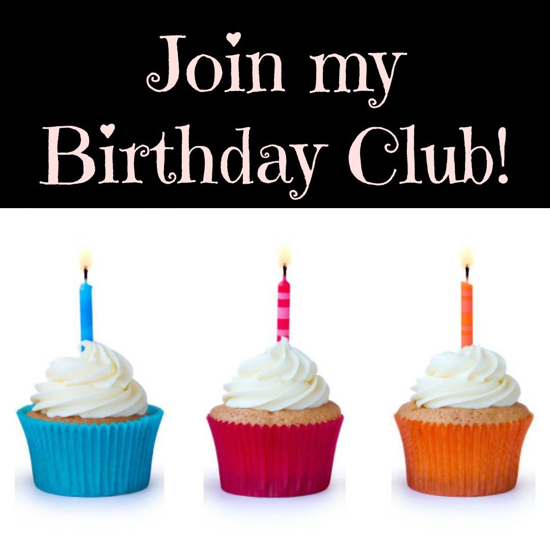 It's A NEW Year! I Am Starting A Birthday Club For My