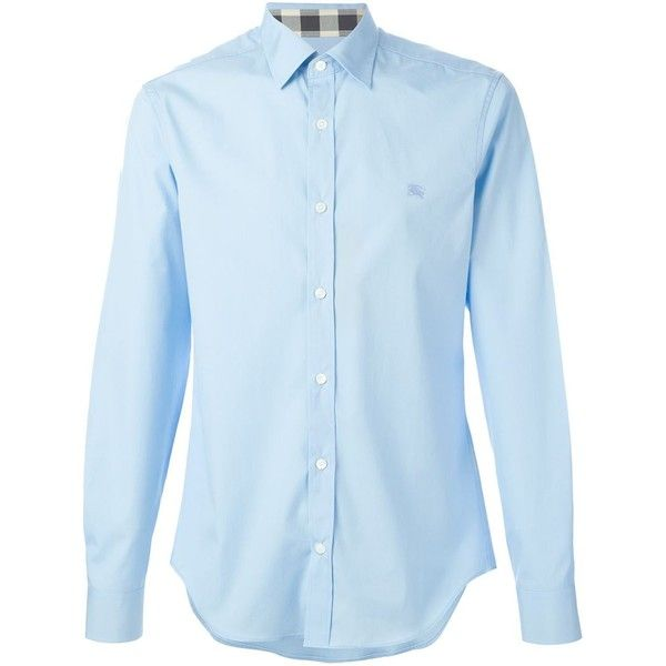 BURBERRY BRIT Classic Shirt ($188) ❤ liked on Polyvore featuring mens, men's clothing, men's shirts and men's casual shirts