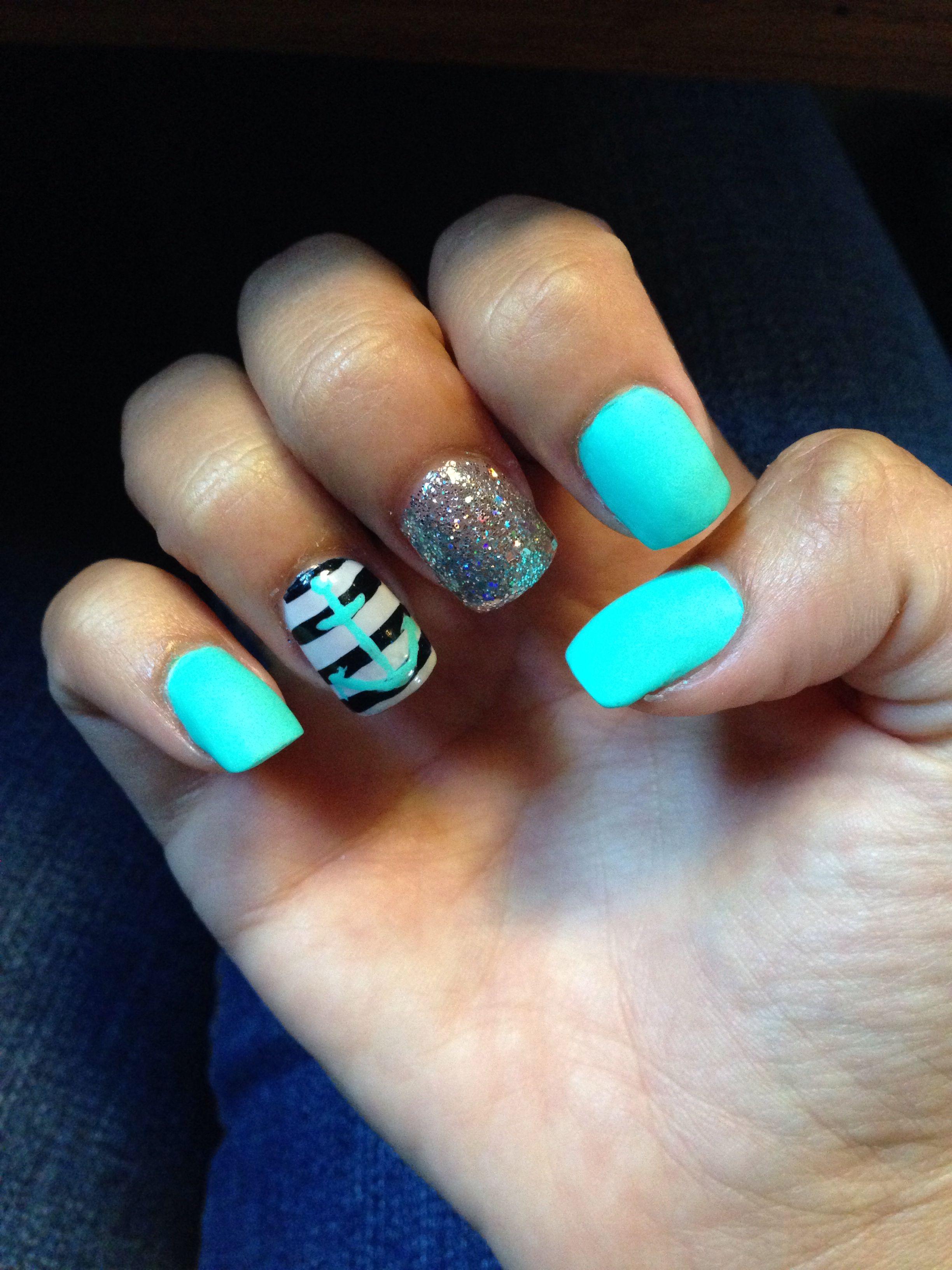 matte anchor nails