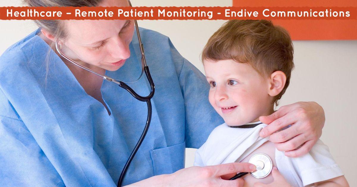 Healthcare remote patient monitoring endive