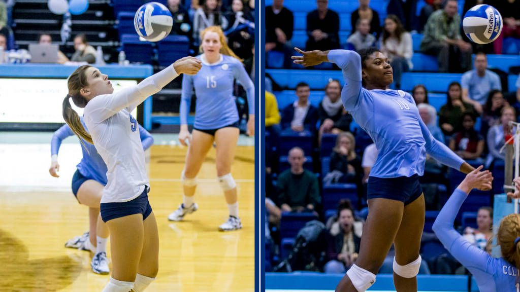 Wes Ikwuazom Headline All Ivy League Volleyball Awards Columbia University Athletics Volleyball News Athlete Ivy League