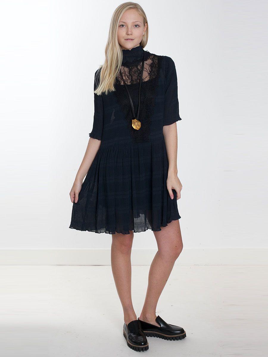 50276e78 Ganni, McKinney Pleat Dress, WILD-SWANS.COM | Wish list | Dresses ...