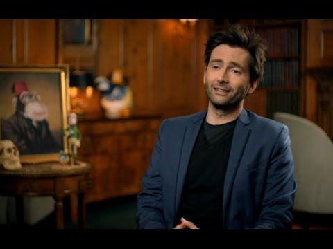 VIDEO: David Tennant Celebrates Aardman Animations