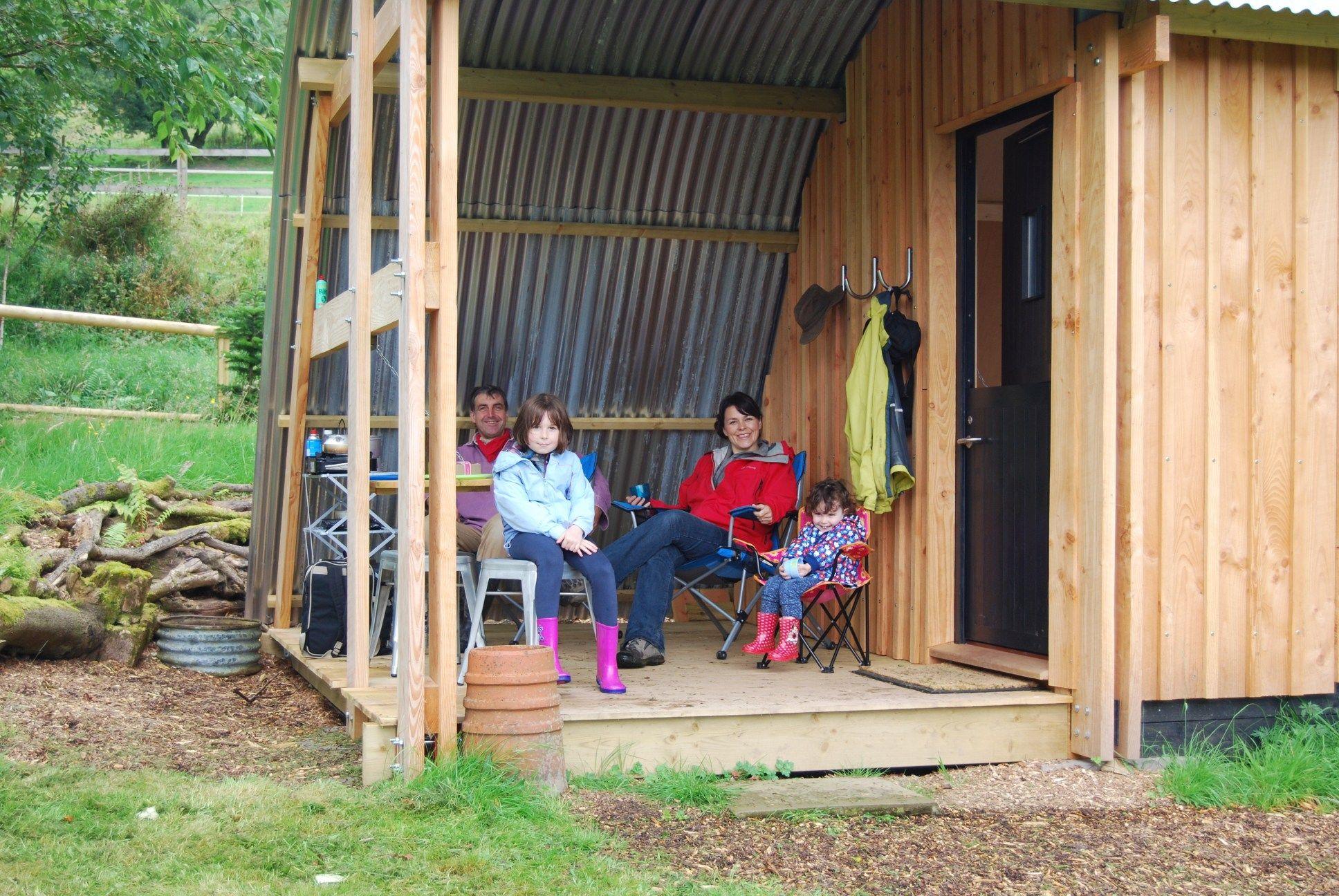 subterranean space garden backyard huts cabins sheds. MorphPOD\u0027s Spacious Veranda Is Big Enough For The Whole Family. Subterranean Space Garden Backyard Huts Cabins Sheds