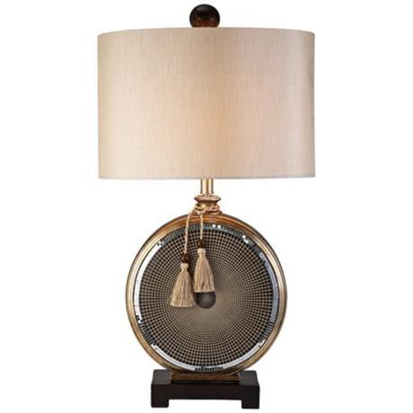 Mosaic Gold Tassel Table Lamp 7c920 Lamps Plus Table Lamp Lamp Gold Table Lamp