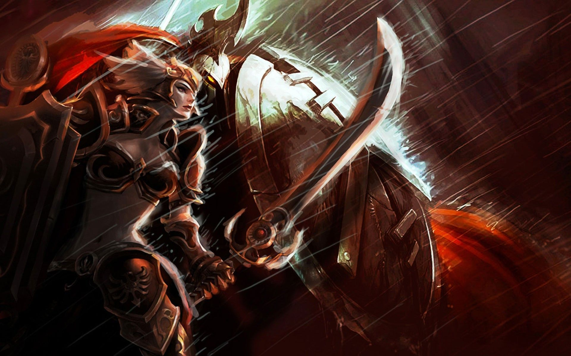 Leona The Radient Dawn League Of Legends Wallpaper 9006 League
