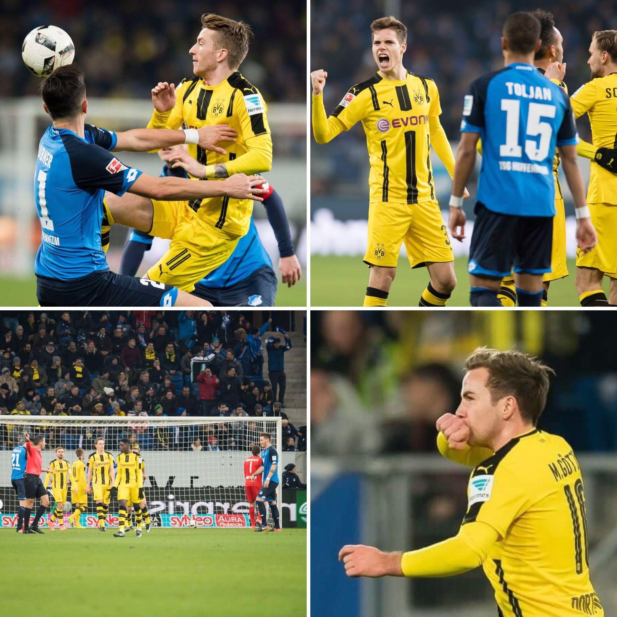 Borussia Dortmund ist am 15. Spieltag der Fußball