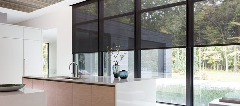 Solar Shades Are Energy Efficient Window Shades That Absorb Heat