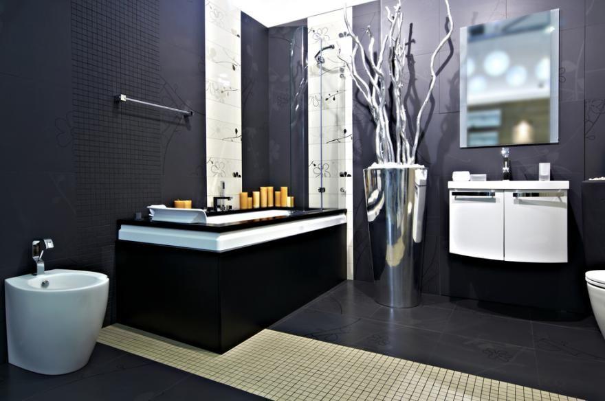 Comment Recouvrir Le Carrelage D Une Salle De Bains En 2020 Salle De Bain Design Renovation Salle De Bain Carrelage Mural Douche