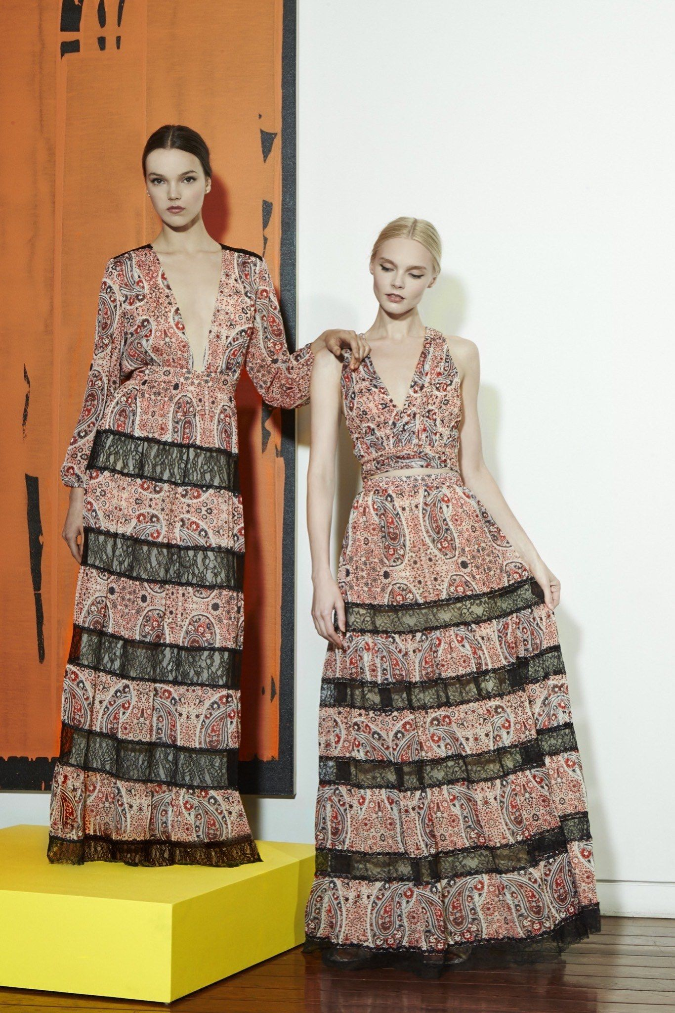 Alice   Olivia Resort 2016 Fashion Show