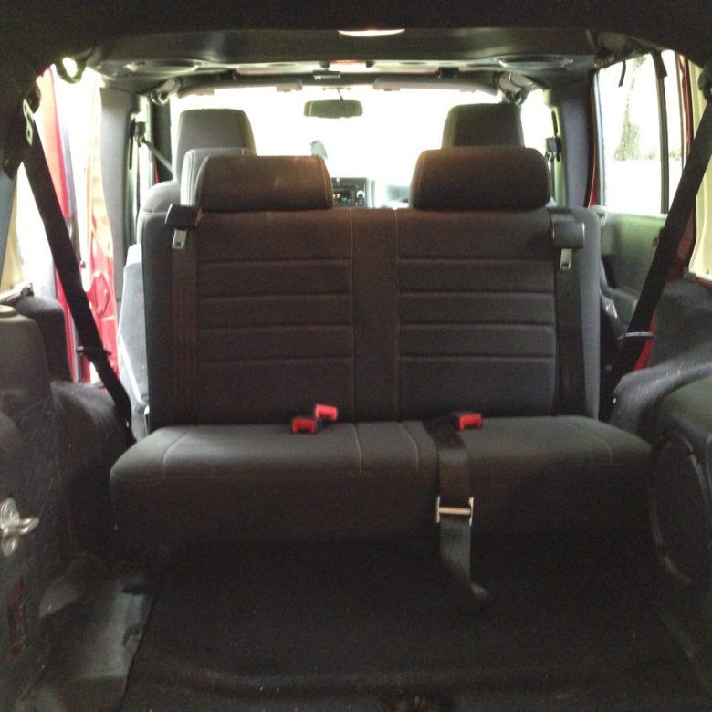 Your four door 2013+ Jeep Wrangler Unlimited extra seat