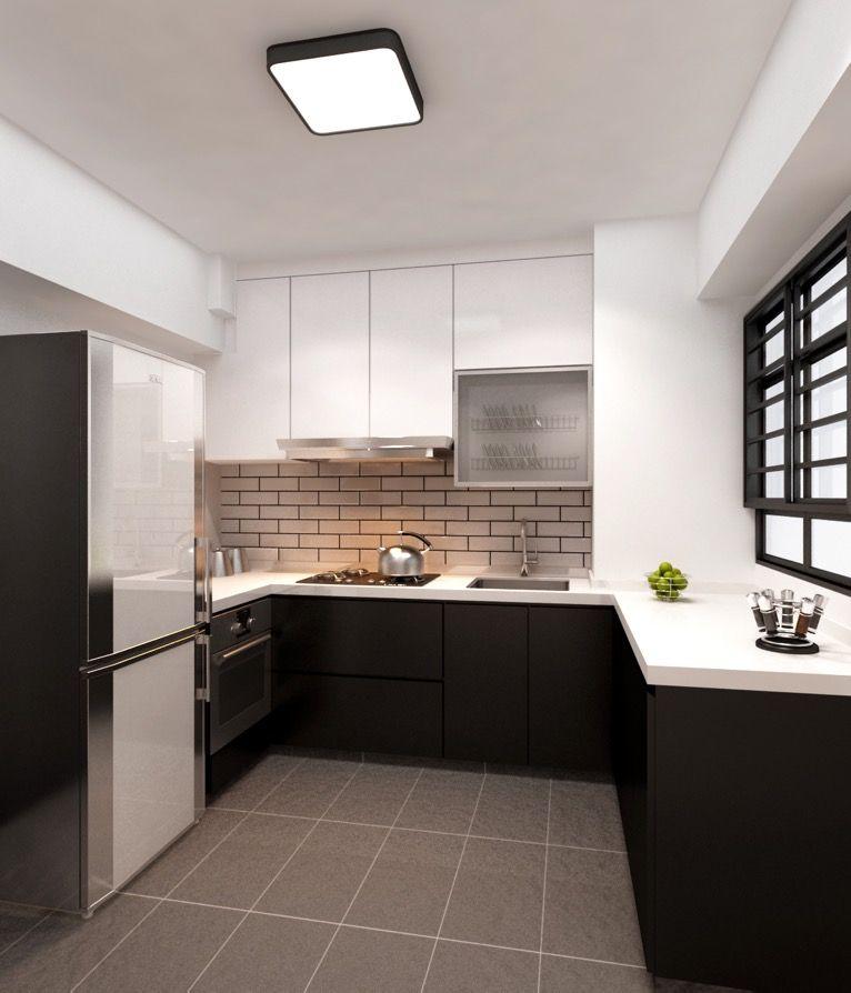 Hdb Bto 4 Room Special Platform At Sengkang Interior Design Singapore Kitchen Design Interior Design Plan