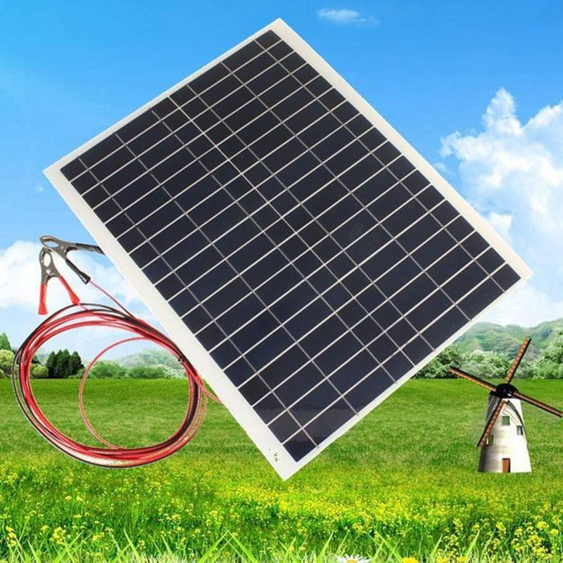 Outdoor 20w 12v Charger Kit Diy Foldable Solar Panel For Camping Hiking Battery Rv Car Boat Aircraft Tourism Portable45 35 0 3cm