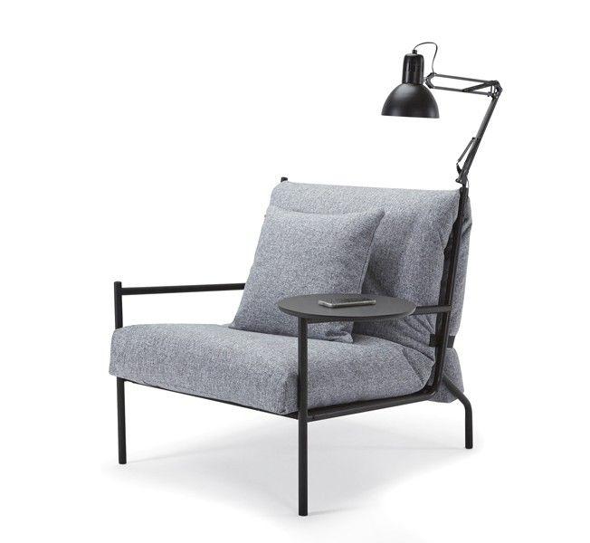 Design Schlafsessel innovation living noir sovestol har et svært stilig design og