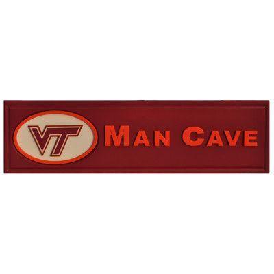 Fan Creations Ncaa Man Cave Textual Art Plaque Wayfair Man Cave Plaque Man Cave Wall Decor Fan Creations