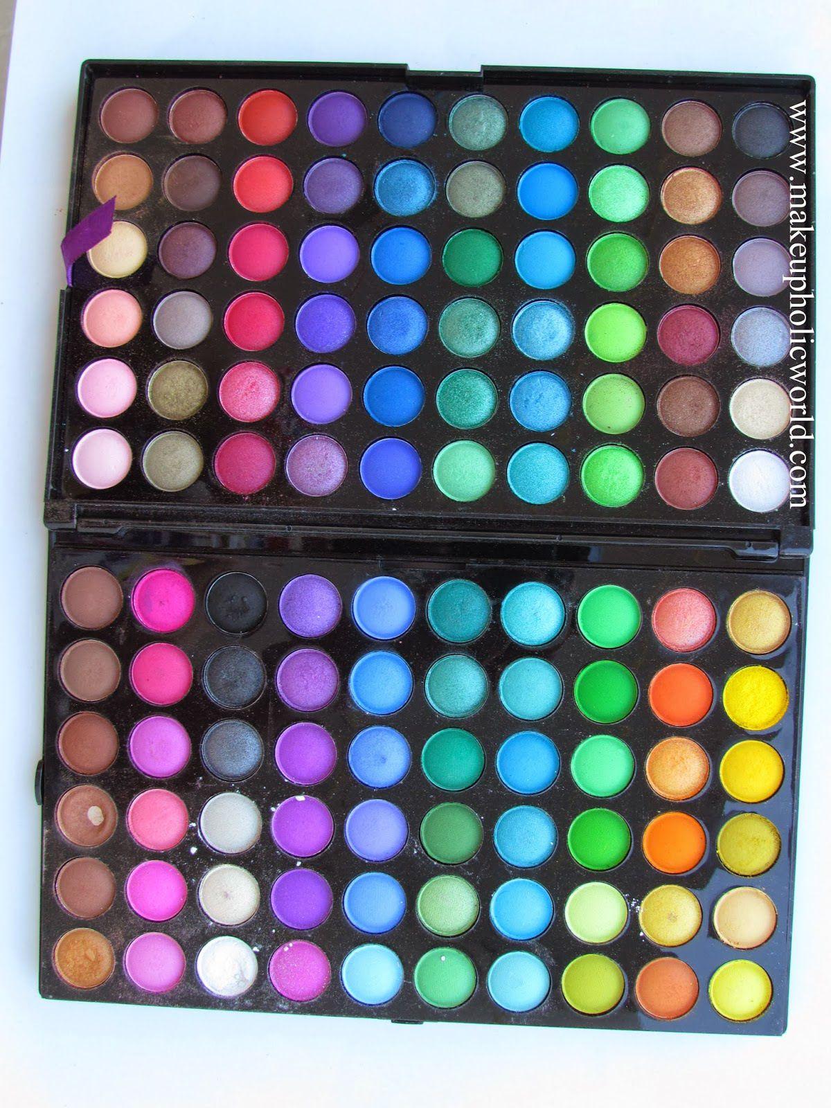 bh cosmetics 120 palette