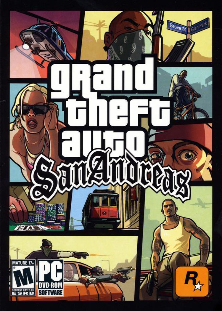 Grand Theft Auto Series With Images San Andreas San Andreas