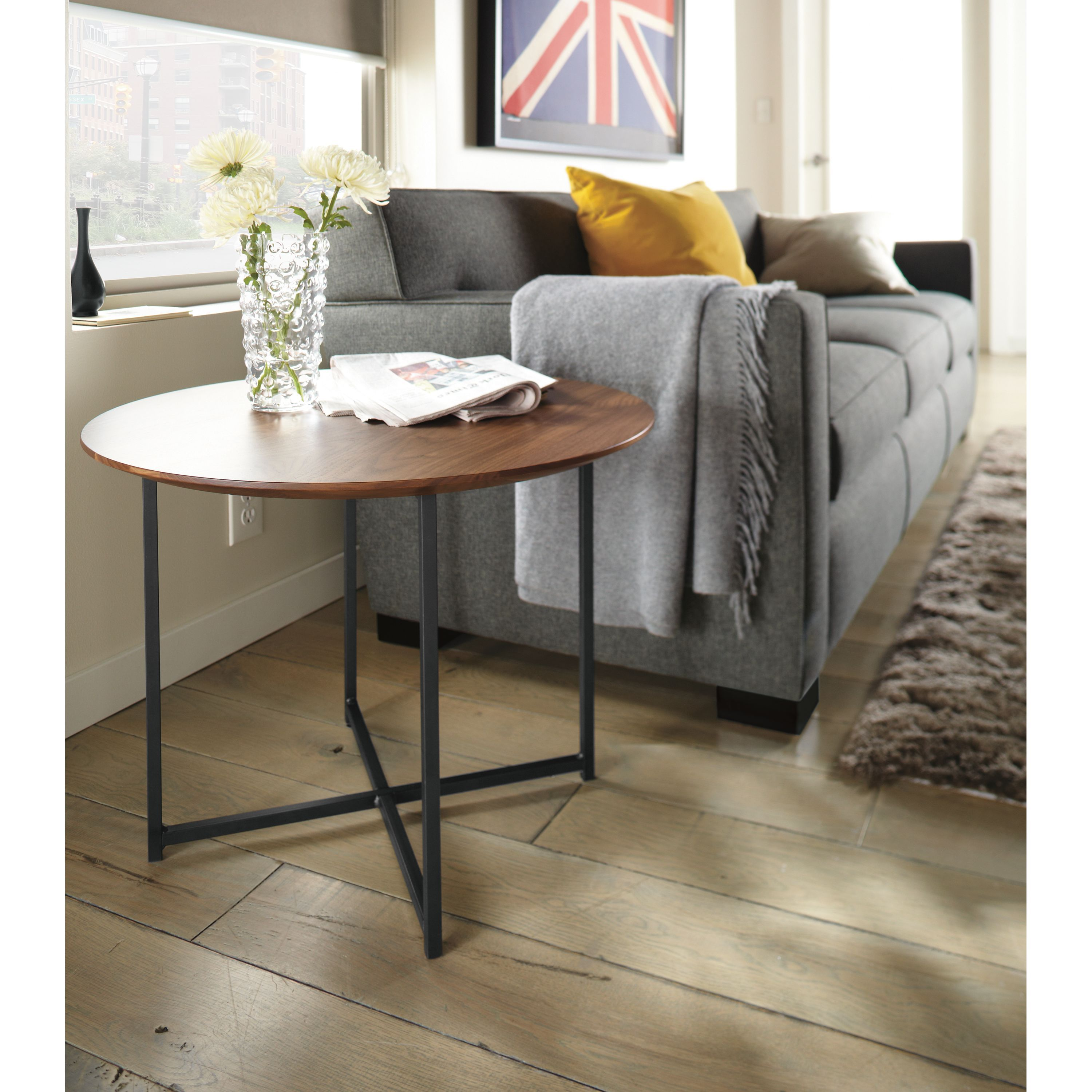 Room Amp Board Classic End Tables In Recycled Natural Steel Modern Furniture Living Room Farmhouse Living Room Furniture Living Room Furniture Room and board side table