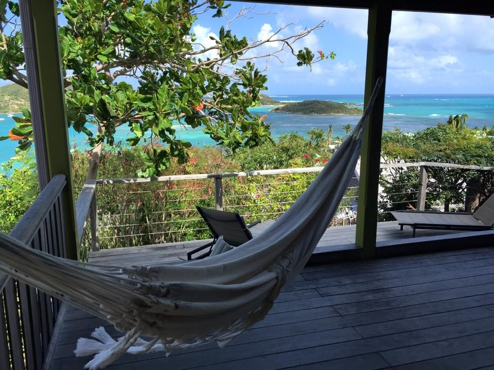 In the hills of St. Martin, Caribbean Journal Life is a Hammock