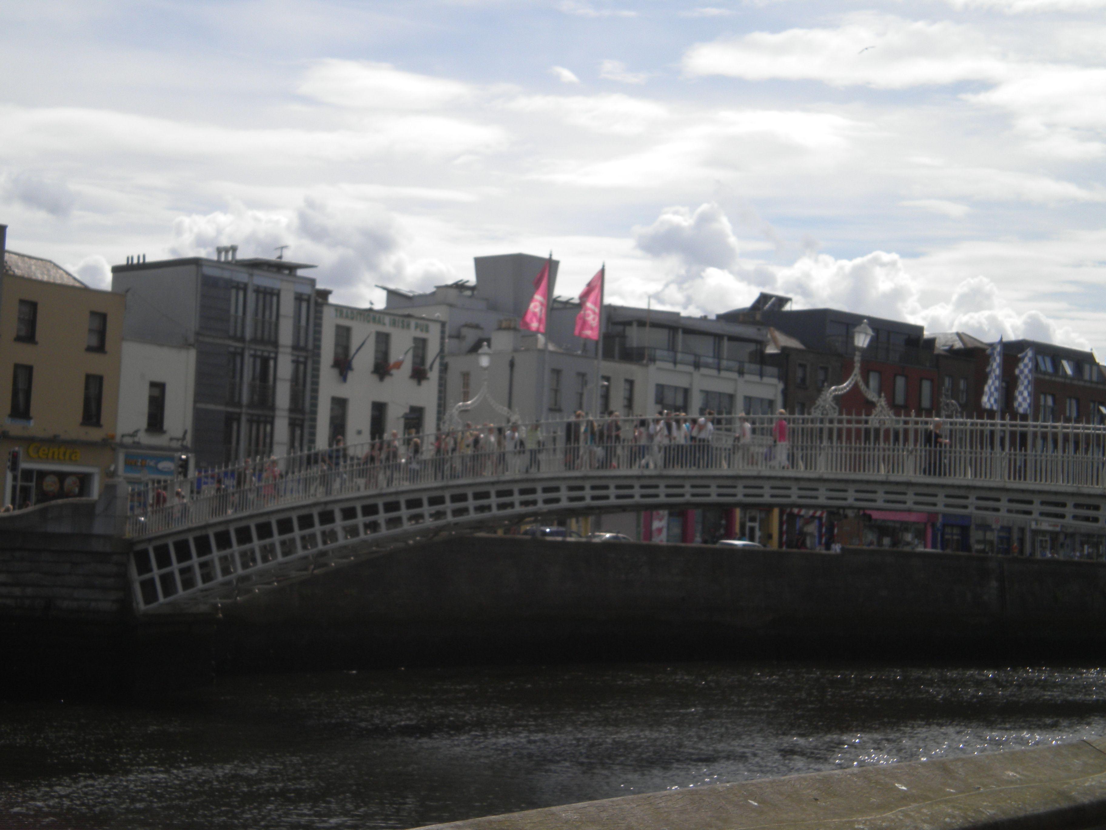 O'Connelly Bridge, Dublin Ireland