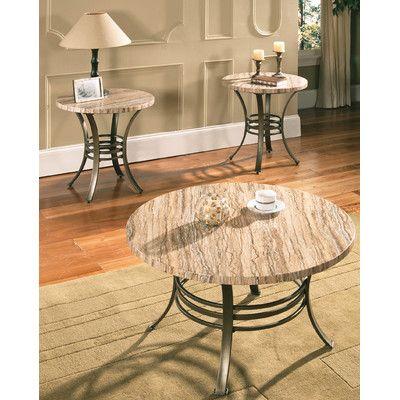 Wildon Home Sashay 3 Piece Coffee Table Set Reviews Wayfair
