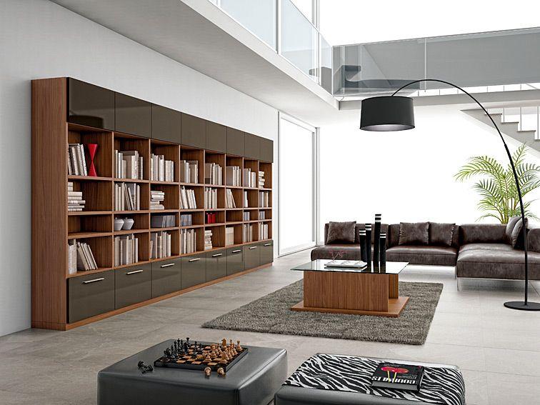 Muebles estanteria moderna otta for Librerias salon modernas