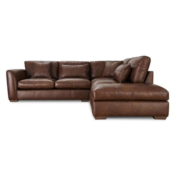 Savannah RHF Corner Sofa With Footstool ($4,150) Liked On
