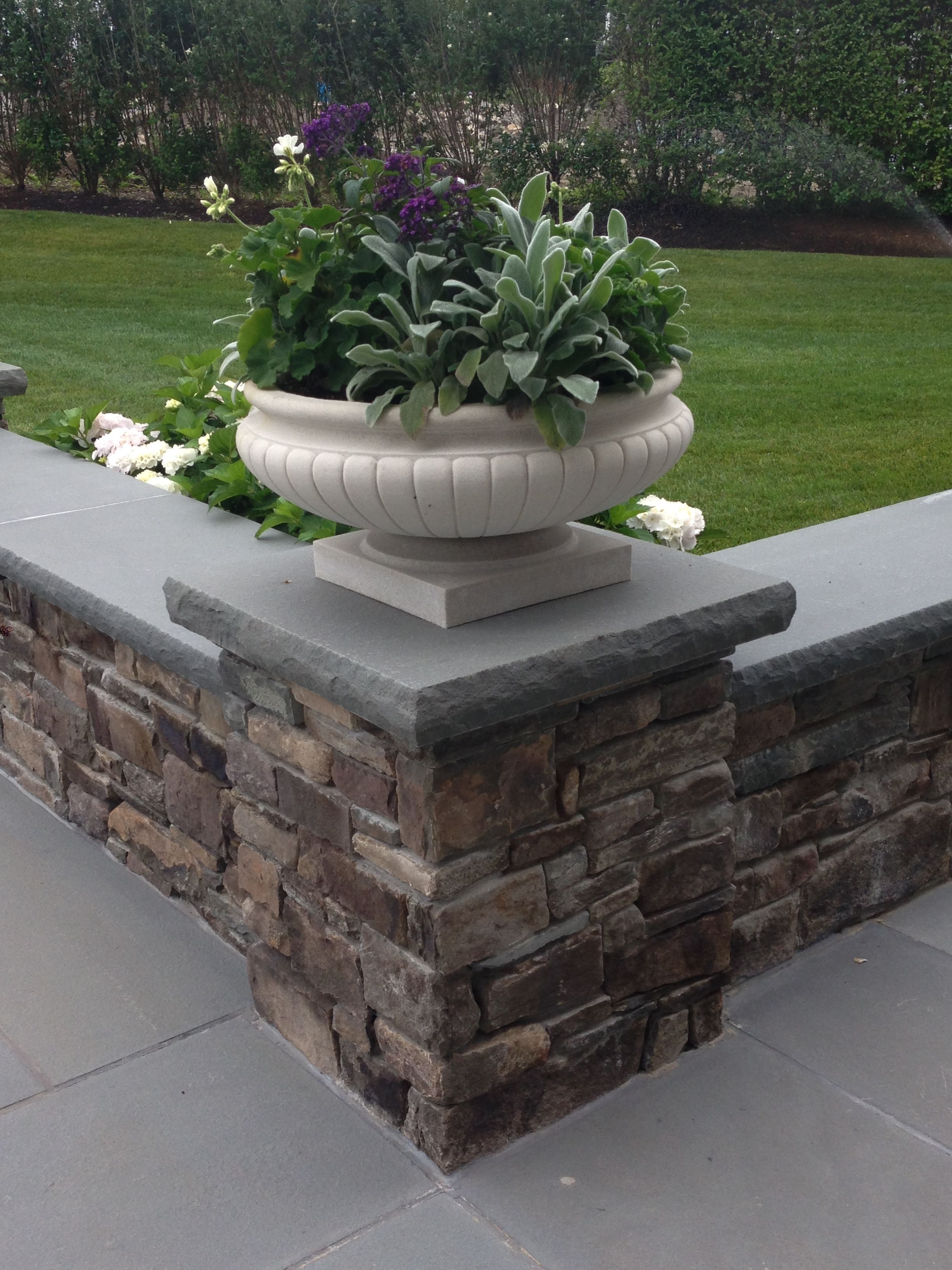 Image result for blue stone patio designs | Outdoor Spaces ...