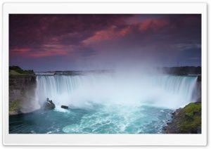 Niagara Falls Image Hd Wide Wallpaper For Widescreen Sunset