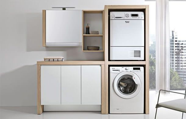 Mobili Per Lavanderia Di Casa.Arredo Lavanderia Ring Di Geromin Bagno Laundry Room Design