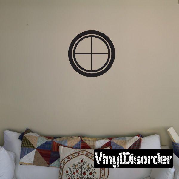 Target scope crosshair wall decal vinyl decal car decal dc0054