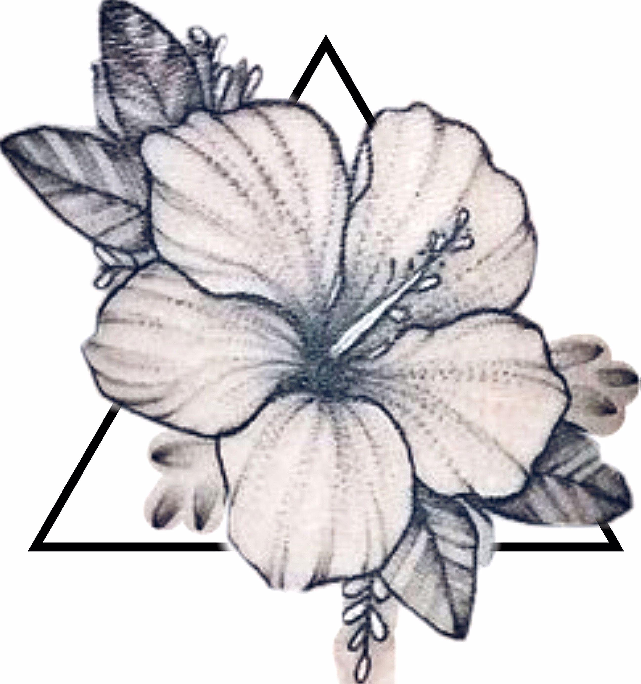 Pinterest Pashtonfruit Hibiscus Flower Tattoos Hawaiian Flower Tattoos Hibiscus Tattoo