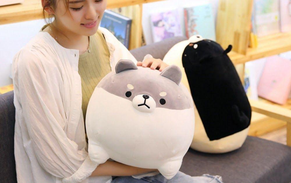 Cute Doge Shiba Inu Dog Japanese Doll Toy Plush Cosplay Xmas Gift Stuffed Toy
