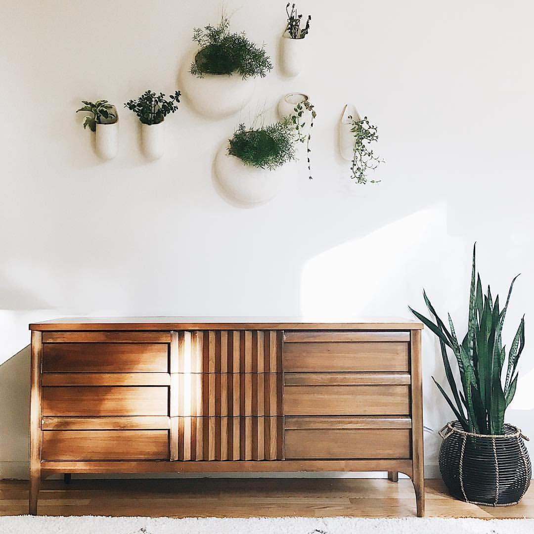 Best Restoring Home Modern Boho Dresser Wall Planters 640 x 480