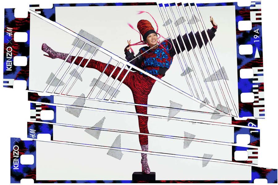 New Visuals for KENZOxH&M Collection by Jean Paul Goude – Fubiz Media