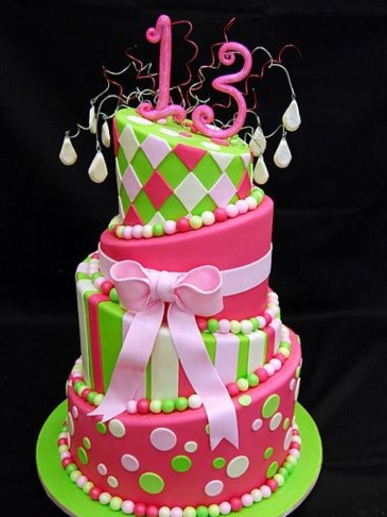 My Cake Turquoise Pink And White Patterns Zebra