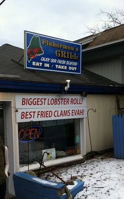 The Fishermen S Grill Forest Ave Portland Maine Best Lobster Roll Fall Vacations Lobster Roll