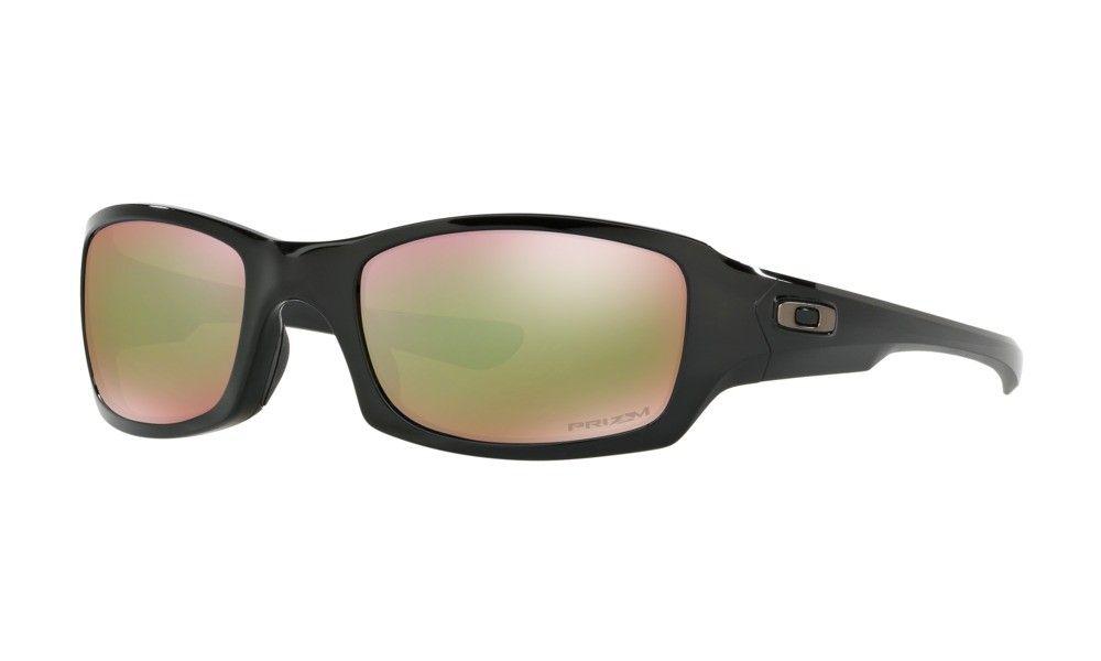 af06e04cd8b0d Oakley Sunglasses Fives Squared Prizm Shallow Water Polarized Mens Polished  Black Frame NO. OO9238-
