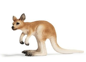 Schleich Kangaroo, Joey at theBIGzoo.com, a toy store featuring 3,000+ stuffed