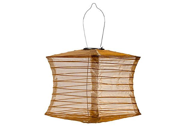 Solar Powered Lantern Bronze On Onekingslane Com Outdoor Solar Lanterns Solar Lanterns Solar Powered Lanterns