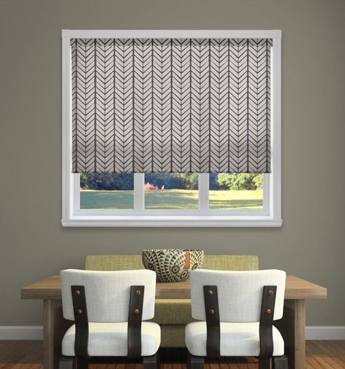 Boutique Dwell Roller Shades Roller Shades Living Room Interior