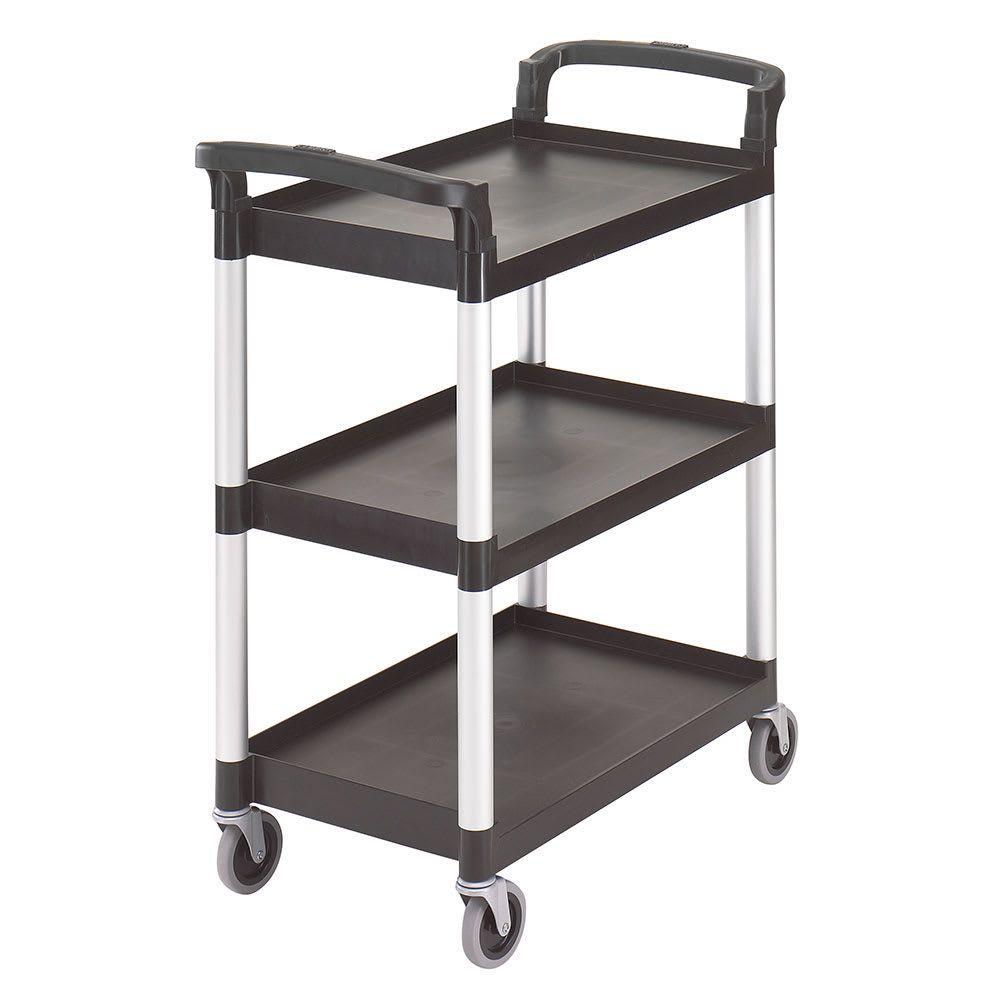 Cambro Bc331kd110 3 Level Polymer Utility Cart W 300 Lb Capacity Raised Ledges Utility Cart Shelves Smart Home Automation