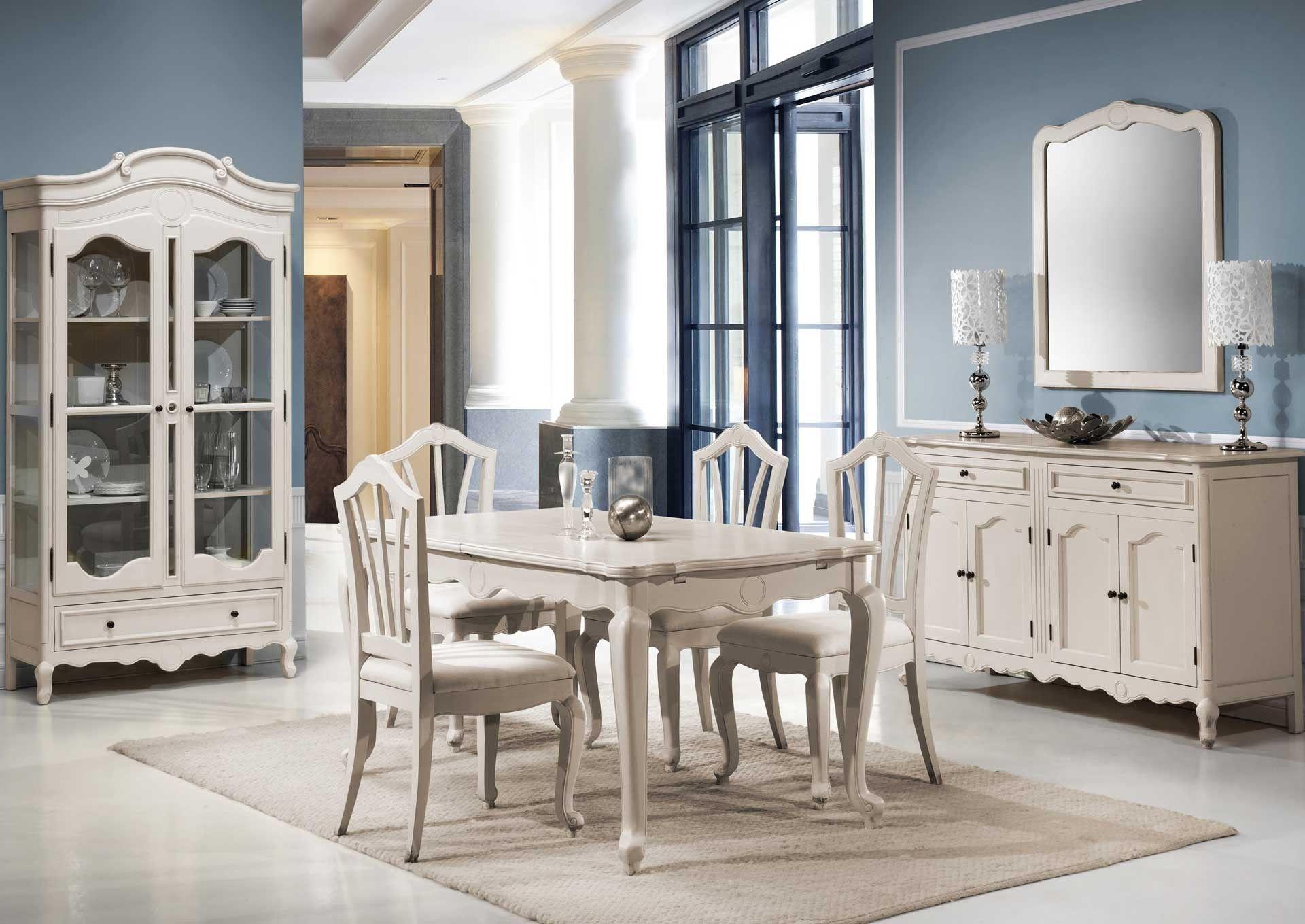 Comedor vintage sarce en mbar muebles el rom ntico for Comedor vintage moderno