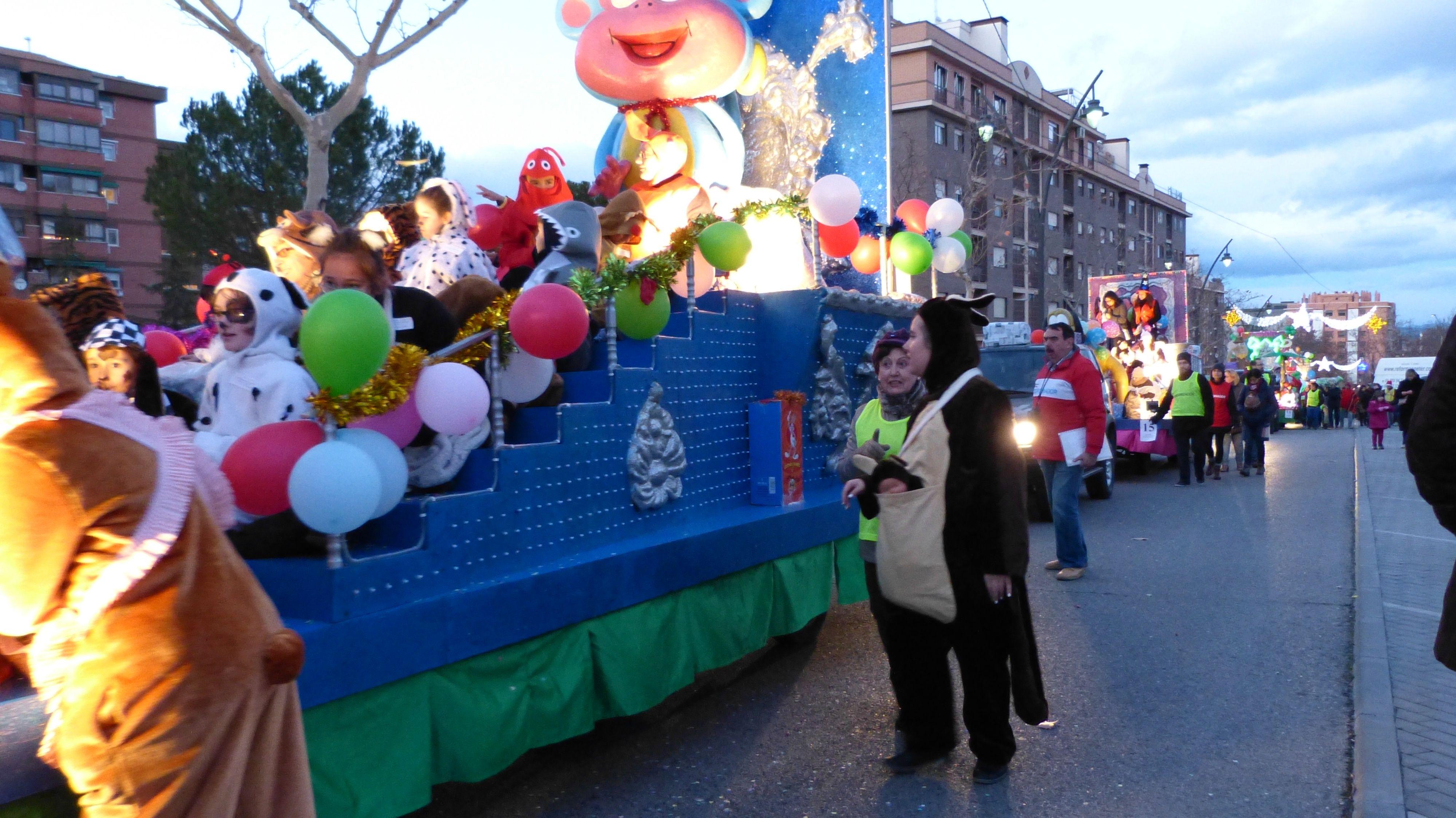 Cabalgata de Reyes  Dora la exploradora y Botas