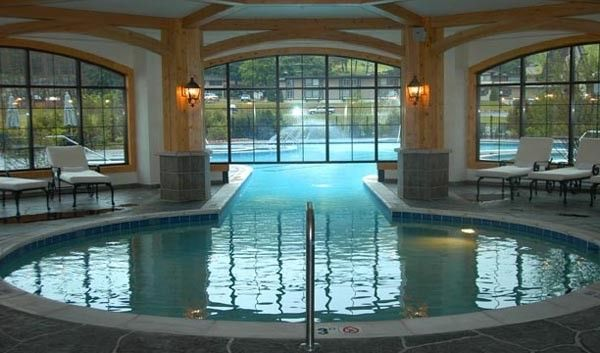 semi-indoor-pool | Swimming pools, Indoor outdoor and House