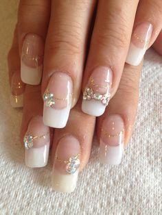 Bridal Nail Designs 2015