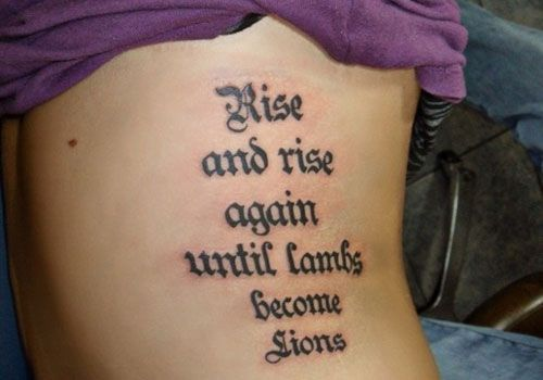 Chest Piece Tattoos And The