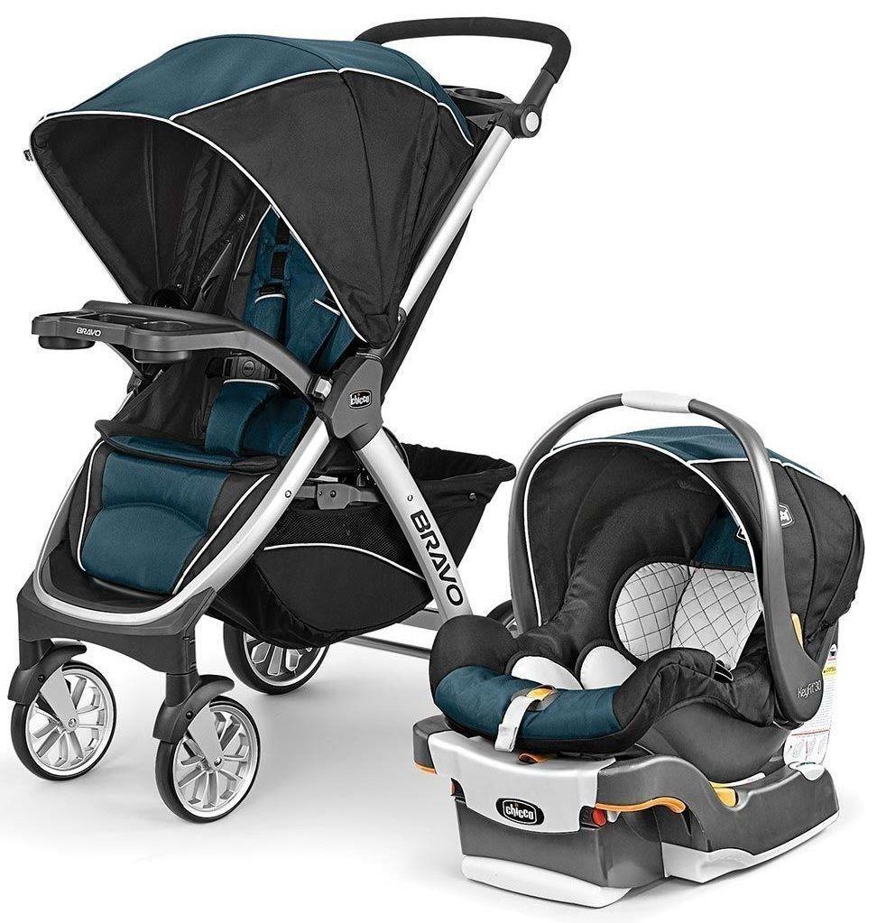 Chicco Bravo Trio 3in1 Baby Travel System Stroller w
