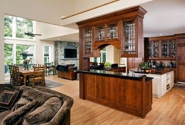 Kitchen Peninsula Bars With Cabinets Above Google Search Kitchen Peninsula Beautiful Kitchens Kitchen Remodel