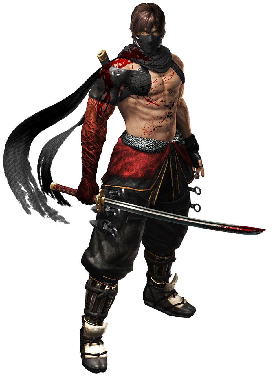 Ryu New Costume Characters Art Ninja Gaiden 3 Razor S Edge Ninja Gaiden Ninja Ninja Art